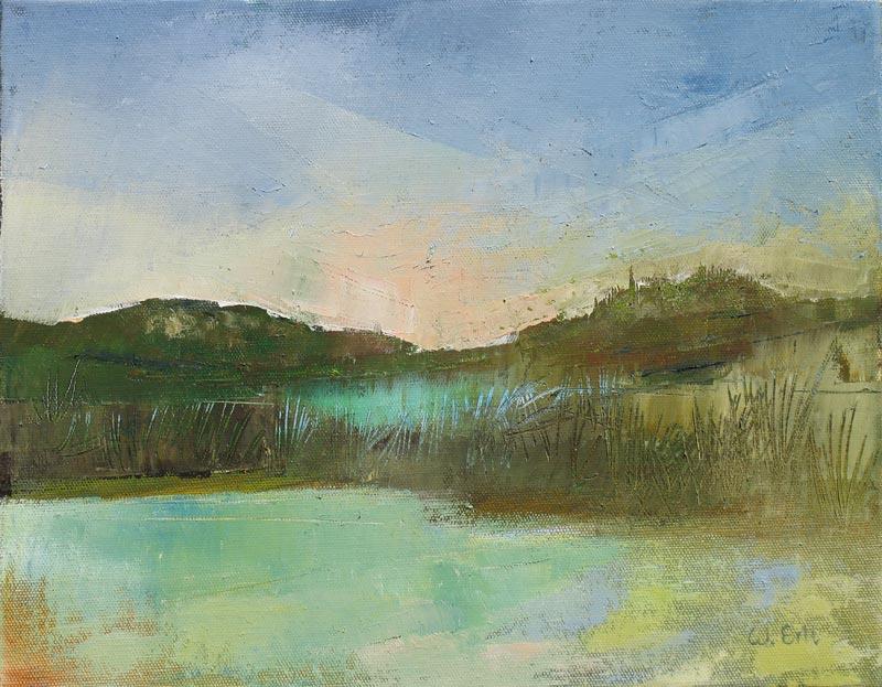 """Reverie, Oil, 11"""" x 14"""" (2010)"""