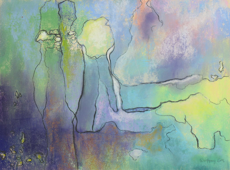 "Vivaldi - Spring, Pastel, 9"" x 12"" (2014)"