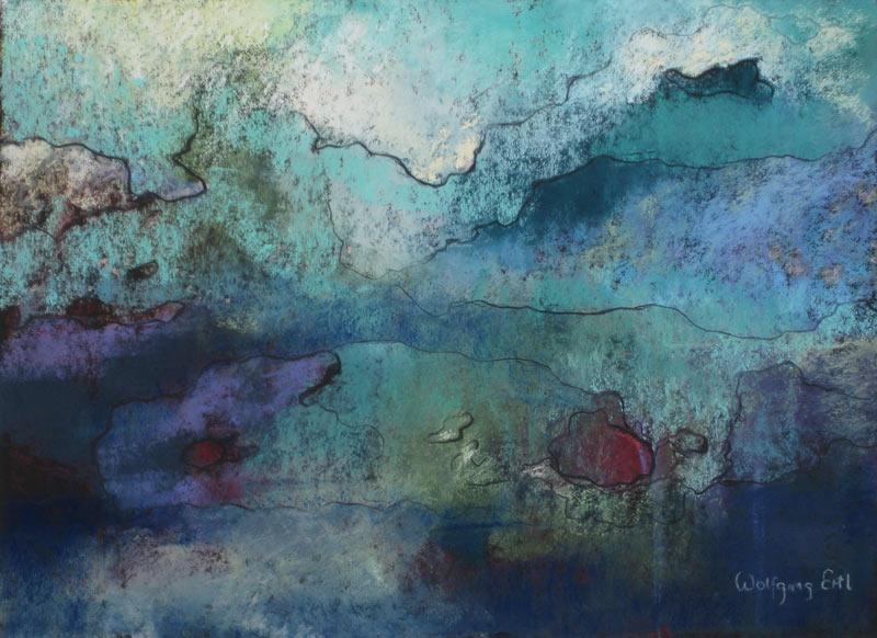 Melancholia 5, Pastel, 8 1/2 x 11 1/2 (2014)
