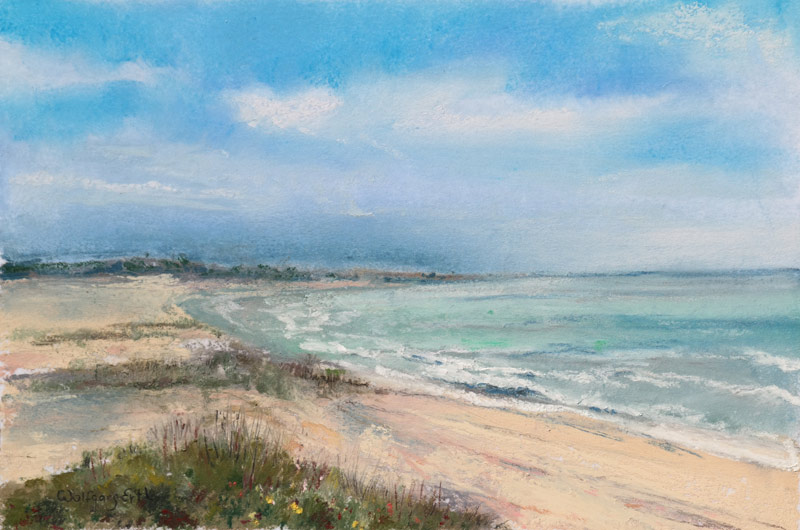 Calm Day 2, Pastel, 6 x 9 in. (2015)