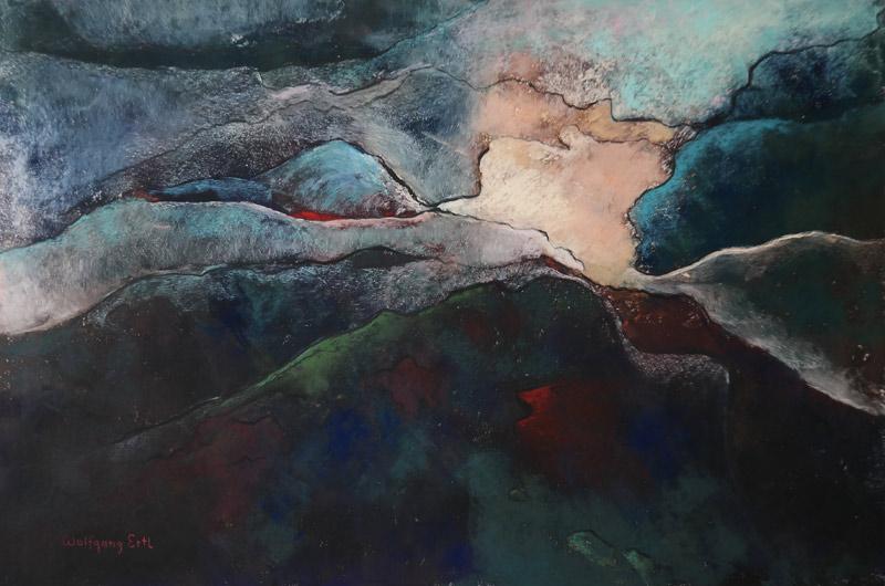 Melancholia 6, Pastel, 12 x 18 (2015)