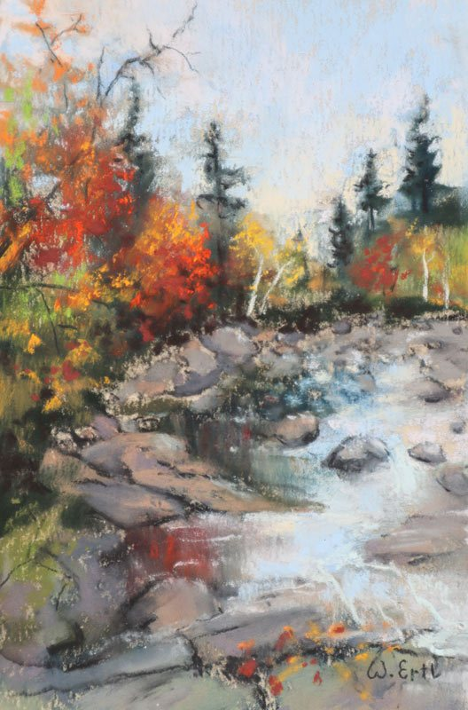 "Autumn Splendor, Pastel, 6"" x 4"" (2019) - Sold"