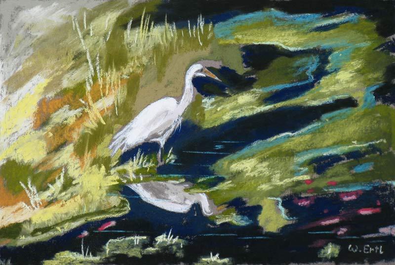 ertl-egret-reflecting